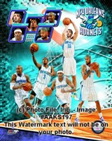 "2008-09 New Orleans Hornets Team Composite, 2008 - 8"" x 10"""