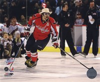 Alex Ovechkin 2008-09 NHL All-Star Game Action Fine Art Print