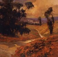 """Afternoon Walk II by Allayn Stevens - 24"""" x 24"""""""