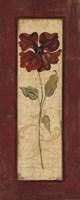 "Crimson Petals II by Jo Moulton - 8"" x 20"", FulcrumGallery.com brand"