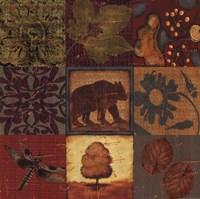 "Teton Tapestry I by Jo Moulton - 18"" x 18"""