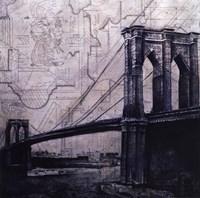 "Bridges Of Old by John Douglas - 12"" x 12"""