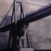 "New Found Bridge by John Douglas - 12"" x 12"""