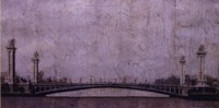 "Pont Neuf by John Douglas - 16"" x 8"""