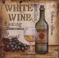 White Wine Fine Art Print