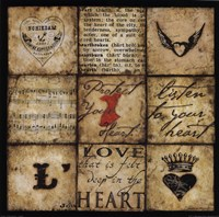 "Protect Your Heart by Stephanie Marrott - 12"" x 12"""