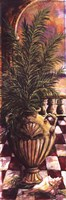 "Palm Breezeway I by Sherry Strickland - 12"" x 36"""