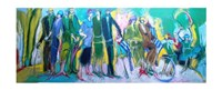 The Celebration in the Park Fine Art Print