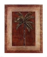 Palm With Border I Fine Art Print