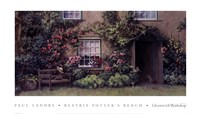 Beatrix Potter's Bench Fine Art Print