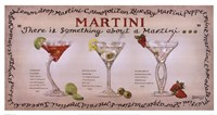 "Martini Collection by Janet Kruskamp - 25"" x 13"""