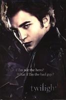 "Twilight - Edward, Broken Glass - 24"" x 36"""