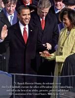 Obama - Inauguration Fine Art Print