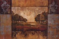Landscape in Gold Fine Art Print