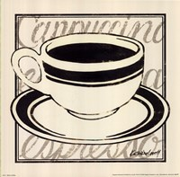 "Black Coffee by Kathrine Lovell - 10"" x 10"""