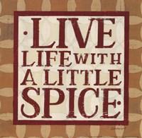 Live Life Fine Art Print