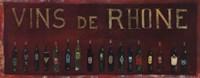 Vins de Rhone Fine Art Print