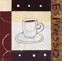 """Urban Coffee II by Mo Mullan - 10"""" x 10"""""""