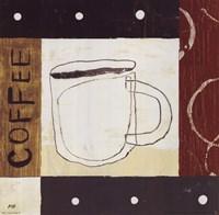 """Urban Coffee III by Mo Mullan - 10"""" x 10"""""""