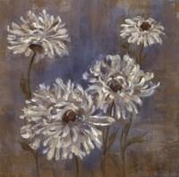 Flowers in Morning Dew II Framed Print