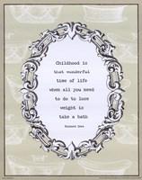 "Childhood by Wild Apple Studio - 8"" x 10"""
