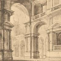 Portico Antico I Fine Art Print