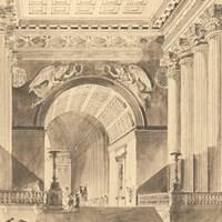 Portico Antico II Fine Art Print