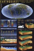 """Earthquakes - 24"""" x 36"""""""