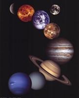 NASA - Solar System Fine Art Print