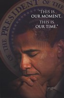 Obama - This Is Our Moment Wall Poster