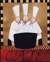 "3 Chefs Soup Bistro 2 by Dan Dipaolo - 8"" x 10"""