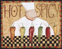 Hot & Spicey Fine Art Print