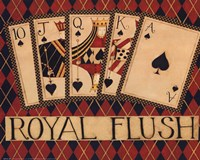 Royal Flush Fine Art Print