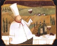 Good wine, Good Life Fine Art Print