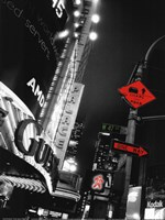 Times Square Night Fine Art Print