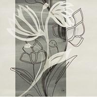 Petal Silhouettes 1 Fine Art Print