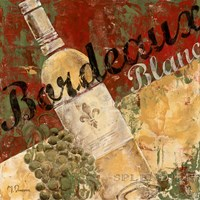 Bordeaux Blanc Framed Print