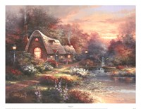 Country Quiet Fine Art Print
