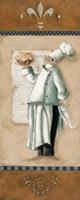 """Chef Magnifique II by Carol Robinson - 4"""" x 10"""""""