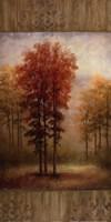October Trees II Fine Art Print