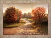 Autumn Lane I Framed Print