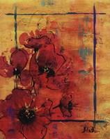 """Artistic Poppy I by Patricia Pinto - 16"""" x 20"""""""