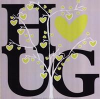"""Hug (Spring) by Erin Clark - 12"""" x 12"""""""