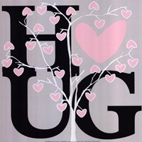 "Hug (Summer) by Erin Clark - 12"" x 12"""