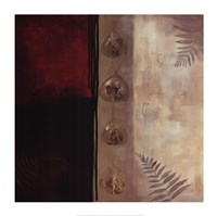 """Russet Fern I by Laurie Maitland - 28"""" x 28"""" - $24.99"""