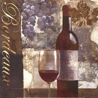 """Bordeaux by Keith Mallett - 12"""" x 12"""""""