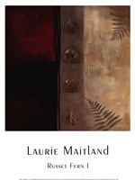 "Russet Fern I by Laurie Maitland - 12"" x 16"", FulcrumGallery.com brand"