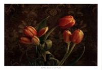 Fleur de lis Tulips Fine Art Print