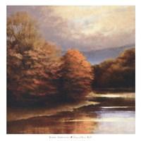 Tranquil River Bend Fine Art Print
