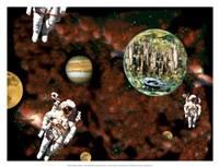 Astronaut View Fine Art Print